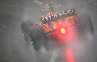 Быстрый молодой немец, слабая команда, Монако, дождь... Ничего не напоминает?