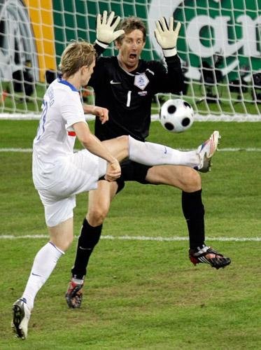 Роман Павлюченко, Эдвин ван дер Сар, сборная Голландии, сборная России, Евро-2008