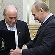 ФИФА, Йозеф Блаттер, Владимир Путин, Вячеслав Колосков, ЧМ-2018