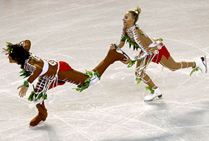 Максим Шабалин, сборная России, танцы на льду, Оксана Домнина, Ванкувер-2010