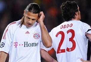 Вместо футболистов «Баварии» на матч с «Барселоной» вышли двойники.
