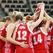 сборная России жен, сборная Латвии жен, Евробаскет-2011 жен