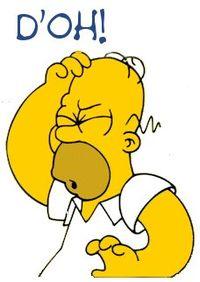 Гомер работает на АЭС, и тоже ошибается